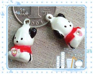10 x Cartoon Bell Dog Pet Cat Collar Snoopy Dog  2cm A1