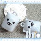 10 x Cartoon Bell Dog Pet Cat Collar Square Pig  2cm A1