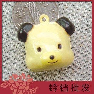 5 x  Big Cartoon Bell Dog Pet Cat Collar Bear Animal 3cm