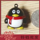 5 x  Big Cartoon Bell Dog Pet Cat Collar Penguin Animal 3cm