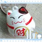 5 x  Big Cartoon Bell Dog Pet Cat Collar Fortune Cat 3cm A2