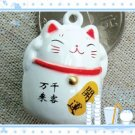 5 x  Big Cartoon Bell Dog Pet Cat Collar Fortune Cat 3cm A3