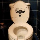 2pcs Tree Wall Sticker Art Toilet Bathroom Vinyl Deco B3