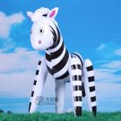 50cm Inflatable Zebra Animal Summer Swimming Swim Toy