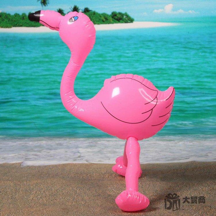 50cm Inflatable Flamingo Animal Summer Swimming Swim Toy