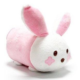 Multi Function Plush Rabbit Tissue Box Holder