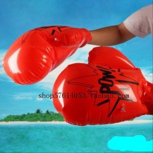 2pcs Inflatable Pulm Glove Boxing Punch Summer Swimming Swim Toy