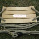 Classic Birch Wood Tree Swing Kit for Kid outdoor fun b1