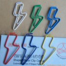 Lot of 200pcs Paper Clip Blot Shaped / Bookmark office