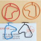 Lot of 200pcs Paper Clip Horse Shaped / Bookmark office