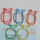 Lot of 200pcs Paper Clip Pineapple Shaped / Bookmark office