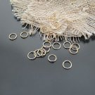 Lot of 250g Jump Ring 7 x 0.7mm Finding Accessory Gold 3500pcs
