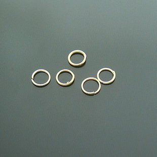 Lot of 7000pcs Jump Ring 5 x 0.5mm Finding Accessory Gold