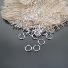 Lot of 250g Jump Ring 7 x 0.7mm Finding Accessory Silver 3500pcs