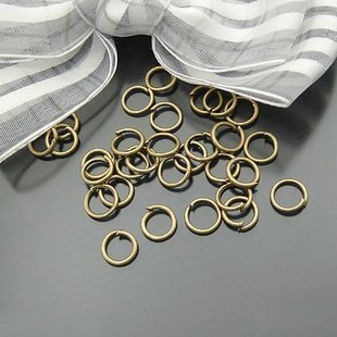 Lot of 190 Dozens Jump Ring 7 x 0.9mm Finding Accessory Brass Plated