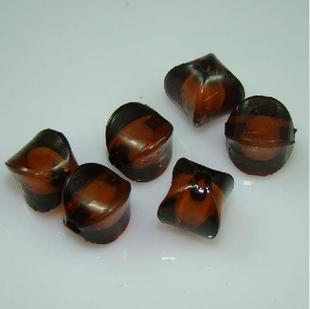 500g Acrylic Corner Bead White Core Inside Dye / Craft  Jewelry accessory Lantern Coffee