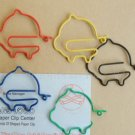 Lot of 200pcs Paper Clip Pig Shaped / Bookmark office