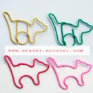 Lot of 200pcs Paper Clip Cat Shaped / Bookmark office B2