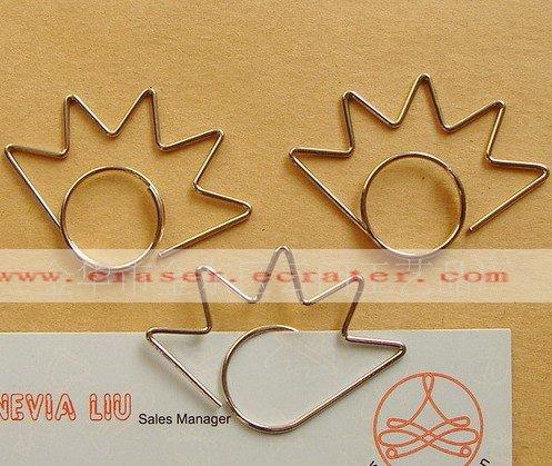 Lot of 200pcs Paper Clip Eye eyelash Shaped / Bookmark office