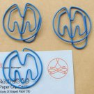Lot of 200pcs Paper Clip Alphabet M Shaped / Bookmark office