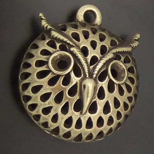 200pcs Owl jewelry bracelet metal Charm Bead  19 X 21mm