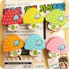 Lot of 6pcs Cartoon Mushroom mini Portable Desk Staple /wood
