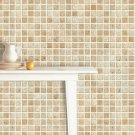 Mosaic Sticker Tile Transfer Bathroom Kitchen 50cm x 50cm Beige