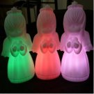 10pcs flash Color Changing Angel Shape Romantic Lamp Light