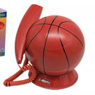 Corded RJ11 Unique Decorative Basketball Telephone