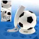 Corded RJ11 Unique Decorative Football Telephone