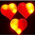Lot of 25pcs Heart Love Pin Brooch Luminous Party Favor
