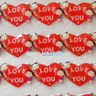 Lot of 25pcs Heart Love Pin Brooch Luminous Party Favor Valentine