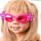 Kid Swimming Pool Seastar  Slicon Swim Glasses Glass Red NIB G028