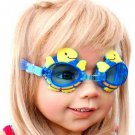 Kid Swimming Pool Turtle  Slicon Swim Glasses Glass NIB G027
