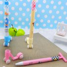 Lot of 10pcs Scooter Ball Point Pen Dollhouse miniature Toy Promotion Gift BP010
