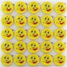 Lot of 25pcs Smile Pin Brooch Luminous Party Favor LP002
