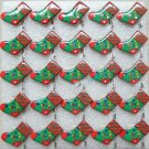 Lot of 25pcs xmas chrismas sock stocking Brooch Luminous Party Favor LP027
