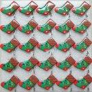 Lot of 25pcs xmas chrismas sock stocking Brooch Luminous Party Favor LP027