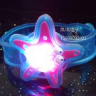 Adjustable Lot of 12pcs Starfish Luminous bracelet bangle Party Favor LB003
