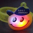 Adjustable Lot of 12pcs smile Luminous bracelet bangle Party Favor LB011
