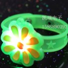 Adjustable Lot of 12pcs flower Luminous bracelet bangle Party Favor LB013