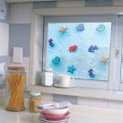 Mosaic Sticker Tile Transfer Bathroom Kitchen Window Sea Beach  92cm x 50cm