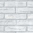 GRAY BRICK Sticker Tile WALL STICKER 60cm x 50cm MS013