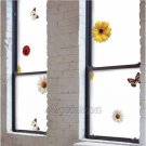 Mosaic Sticker Tile Transfer Bathroom Kitchen Window BUTTERFLY SUNFLOWER  92cm x 50cm MS021