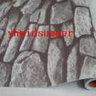STONE BRICK Sticker Tile WALL STICKER rugged 45cm x 700cm MS022