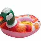 Inflatable Baby Swimming Seat duck Floating Ring for Kid SR008