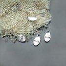 800XDollhouse Love   /jewelry Pendant metal alloy charm 15 x 8mm CM946