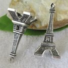 Lot of 100pcs mini Tower 47 x 22mm toy/jewelry bracelet metal alloy Charm CM875