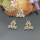 Lot of 300pcs mini Brass Gemini (twins) doll house miniature toy/jewelry Charm CM939