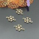 Lot of 500pcs mini Snowflake dollhouse miniature toy/jewelry Charm CM848